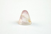 Fluorite Point Carved Purple Stone Flat Cone Point