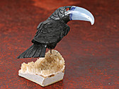 Onyx and Sodalite Toucan