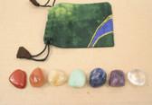 Chakra Healing Set 7 Crystals Stones Kit