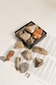 "Silver Leaf Jasper Tumbled Stones 1/4 Lb Size Medium 1.20-2.25"""