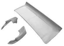 M-205DL-KIT 1967-1968 Ford Mustang Shelby Fastback Fiberglass Decklid and PAIR of Extensions