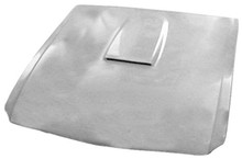 M-304 1964 1/2-1966 GT 350 Style Ford Mustang Fiberglass Hood with Shelby Style Scoop
