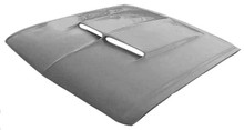 M-306 1967-1968 Ford Mustang Fiberglass Hood with 1967 Shelby Style Scoop