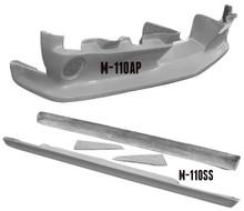 M-1105 1964 1/2-1966 Ford Mustang 5 Piece Ground Effects Kit. Use With Bumper