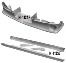 M-1125 1967-1968 Ford Mustang 5 Piece Ground Effects Kit. Use With Original Bumper