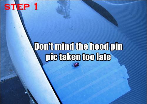 Instruction Manual Hood Pin Installation Support Icbeamer