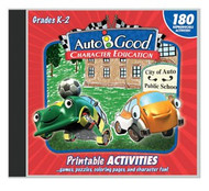 Auto-B-Good - Vol. 1-12 Printable Activity CD: Grades K-2