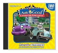 Auto-B-Good - Vol. 1-12 Printable Activity CD: Grades 3-4
