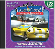 Auto-B-Good - Vol. 13-21 Printable Activity CD: Grades 5-6