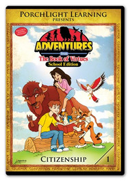 Adventures from the Book of Virtues Volume 01: Citizenship (DVD) School Edition