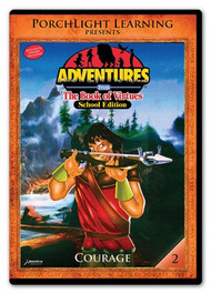 Adventures from the Book of Virtues Volume 02: Courage (DVD) School Edition