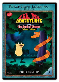 Adventures from the Book of Virtues Volume 03: Friendship (DVD) School Edition