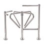 """Exit"" Turnstile, Curved Arm Anti-Crawl"