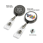 Heavy Duty Badge Reels, Printing, Boxes of 100