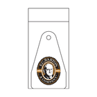 Triangular Key Tag with Magnetic Stripe, and Matching Barcode Label