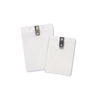 Badge Holders - Clip - Vertical, Boxes of 100