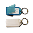 Plastic Key Tag with Open/Clos Flap