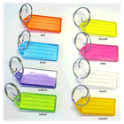 Assorted Color Tags with Inserts, Boxes of 50