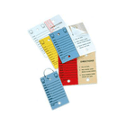 Card Stock Tags - 2 Holes, with Lamination (VersaTags)