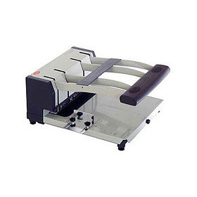 "300 Sheet 3-4 Hole Punch, 1/8"" to 3/8"" Punch Heads"