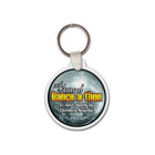 "Round Keychain, 1/8"" Thick Vinyl Key Tags"