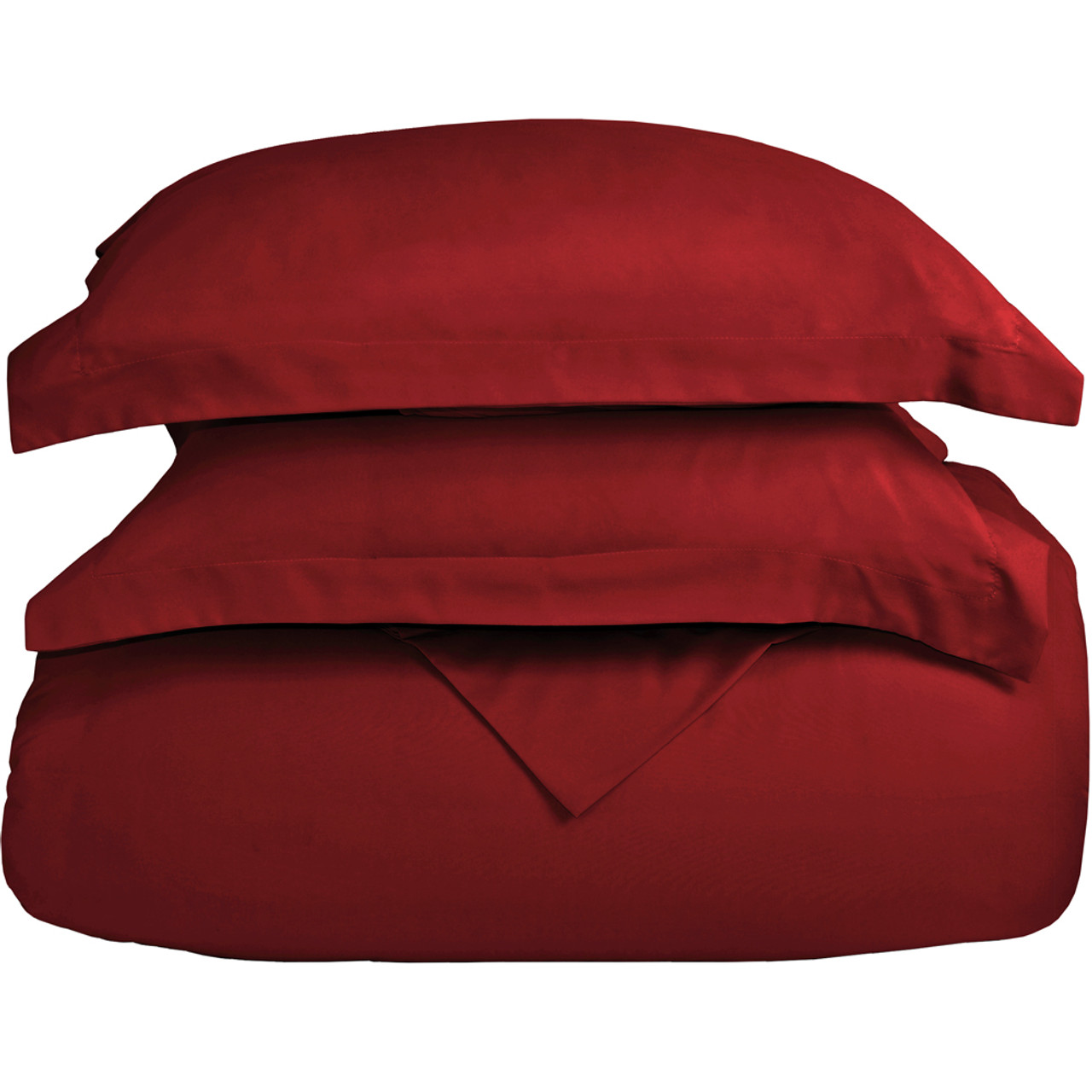 twin xl duvet cover red