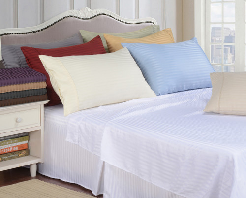 Microfiber Stripe Sheet Sets
