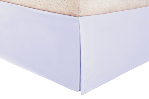 100% Brushed Microfiber Solid Bed Skirt