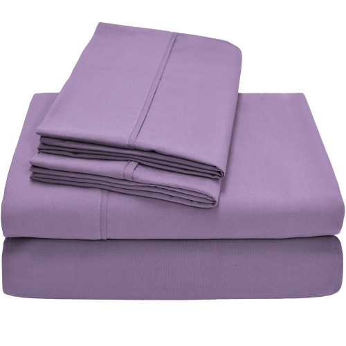 Premium Ultra-Soft Microfiber Sheet Set Twin XL - Lavender