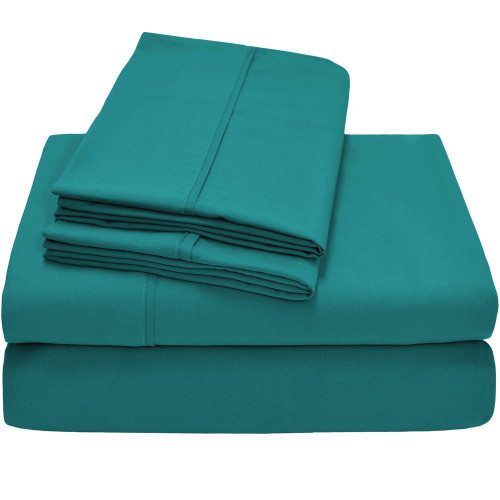 Premium Ultra-Soft Microfiber Sheet Set Twin XL - Emerald