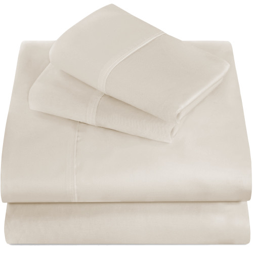 Twin XL Sheets - Microfiber - Ivory