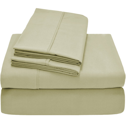 Twin XL Sheets - Microfiber - Sage