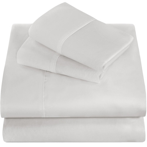 Bare Home Premium Ultra-Soft Microfiber Sheet Set - Twin - White