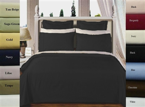 Ultra-Soft Egyptian Cotton 550 TC Twin XL Duvet Cover