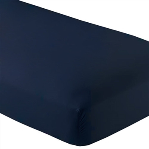 Fitted Microfiber Sheet Twin XL - Dark Blue