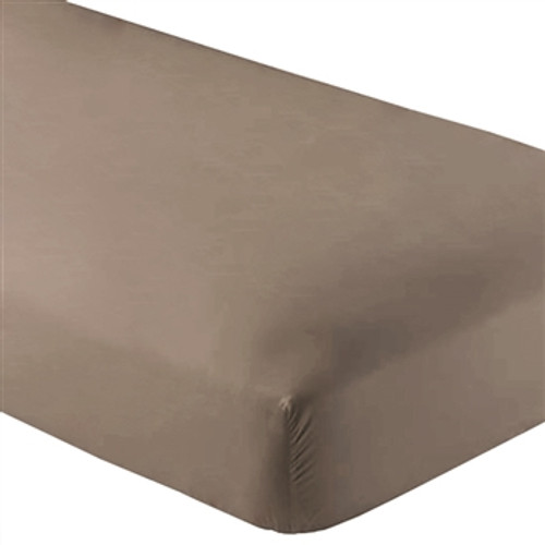 Fitted Microfiber Sheet Twin XL - Taupe