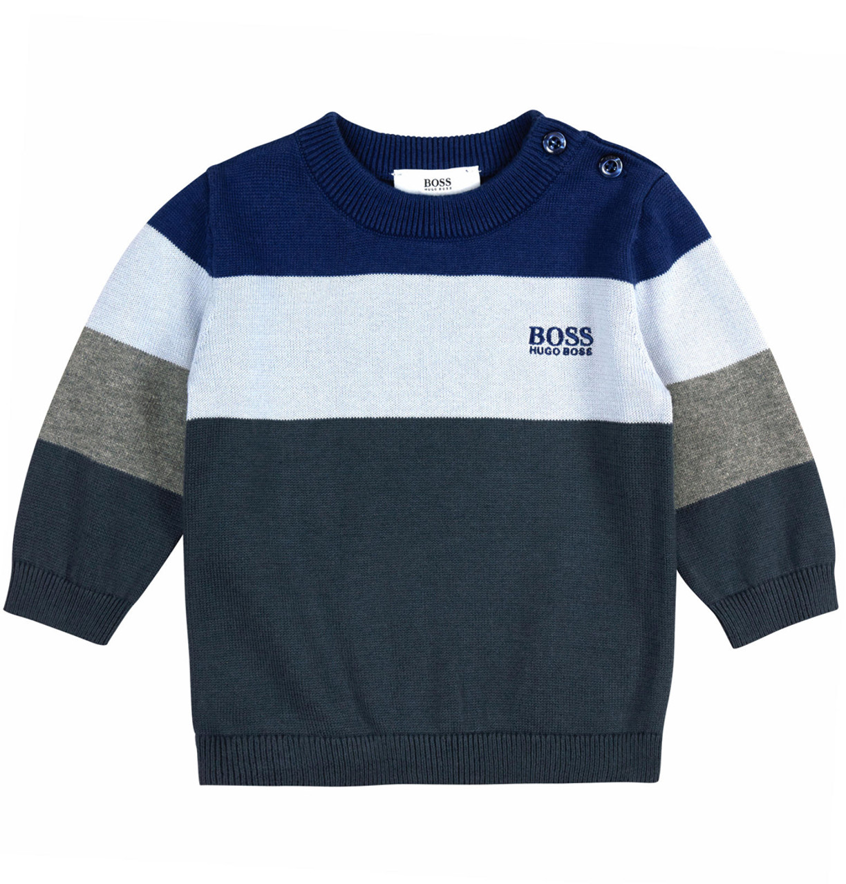 BOSS Pima Cotton sweater - Le Petit Kids