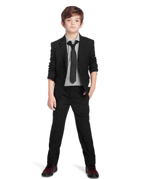 Boss Boys Black Suit Le Petit Kids
