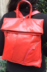 Backpack Lamb Leather - many colors available