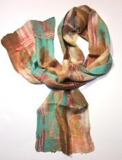 Handmade Silk/Wool Scarf