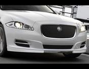 Speed style Apron w. Real Carbon Fiber Center for Jaguar XJ, XJ Supersport, XJR