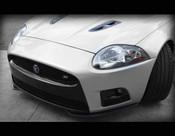 Jaguar XKR Carbon Fiber Bumper Apron Set