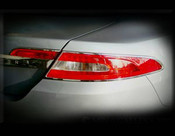 Jaguar XF & XFR Chrome Taillight Trim Surrounds (07-2011 models)