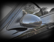 S-Type Real Carbon Fiber Mirror Cover Finisher 2003-2008