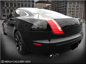 Jaguar XJ Supercharged Performance Exhaust System by Mina Gallery