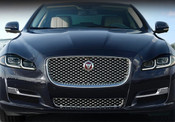 Jaguar XJR Style Chrome Lower Middle Mesh Grille Replacement
