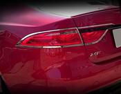 Jaguar XF Chrome Taillight Trim Surrounds 2016-On