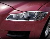Jaguar XF Chrome Headlight Trim Surrounds 2016-On