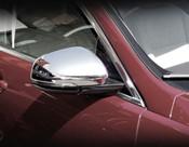Jaguar XF Chrome Mirror Cover Finishers 2016-On