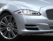 Jaguar XJ 2010-2015 OE RH Bumper Side Grille Replacement w Chrome Splitter